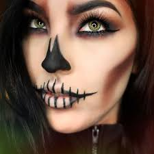 skull makeup by muartistlaurennicole skull skullmakeup makeup