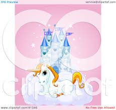 Unicorn Cloud by Clipart Illustration Of A Cute White Unicorn Resting On A Cloud In