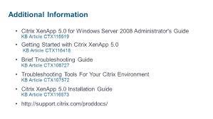 debugging xenapp u0026 xendesktop ppt download
