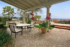 patio pavers ideas patio contemporary with glass door stone fire pit