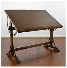 Drafting Table And Desk Outstanding Restoration Hardware 1920s Drafting Table