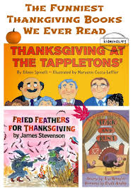 the funniest thanksgiving books we read kidminds
