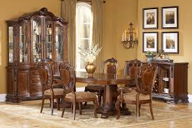 double pedestal dining room table old world formal double pedestal table dining room collection 12911