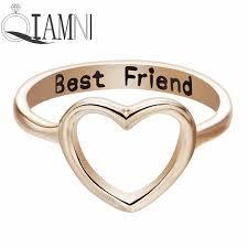 best promise rings images Qiamni women 39 s cutout heart ring best friend gifts cute lovely jpg