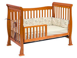 Crib Convertible To Toddler Bed Davinci 4 In 1 Convertible Crib In Oak W Toddler Rails M2801o