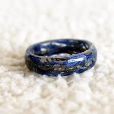 resin cremation jewelry rings collection