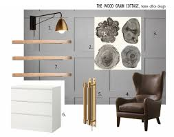 Office Design Plan by Home Office Mood Board U0026 Design Plan The Wood Grain Cottage