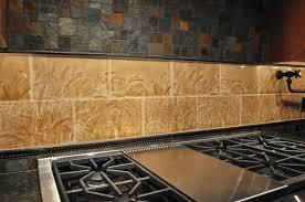 Backsplash Samples by Living Walls Wheatfield Tile Backsplash