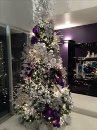 purple christmas tree when i get a tree this is how i want it decorated stacey