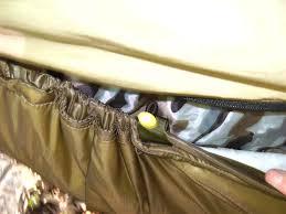 how to make a diy insultex ix underquilt for hammock camping myog