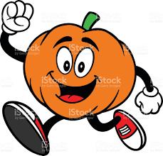 pumpkin cartoon pic pumpkin mascot running stock vector art 519530519 istock