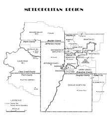 denver schools map metropolitan region cde
