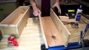 how to build a cedar planter box youtube