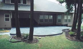 Concrete Slabs For Backyard by Patio Ideas Concrete Concrete Patio Designs With Fire Pit Patio