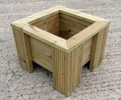 best 25 wooden trough planters ideas on pinterest