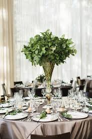 wedding centerpieces 15 best greenery wedding centerpieces green centerpieces for wedding