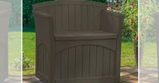 walmart com suncast 31 gallon patio seat just 29 41 regularly