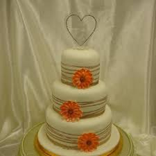 smaller 3 tier gerbera wedding cake u2013 celticcakes com
