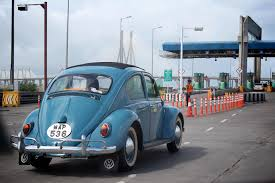 old blue volkswagen vw beetle club of mumbai revving up engine firing up passion