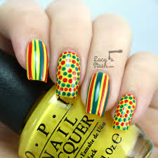 bring on the summer fun nail art design with opi brazil lucy u0027s