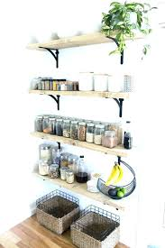 Adding Shelves To Kitchen Cabinets Hanging Shelf Storage Garage Hanging Storage Shelves Hanging
