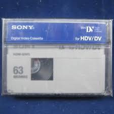 hdv cassette sony hd hdv mini dv minidv digital hd cassette 2 469