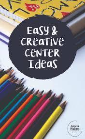 center ideas easy creative center ideas
