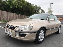 vauxhall omega elite v6 automatic gold collectors car with full