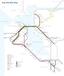 Bart Line Map wikipedia featured picture candidates bay area rapid transit