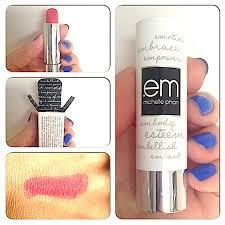 Em Makeup review swatches before after mascara comparison photos em