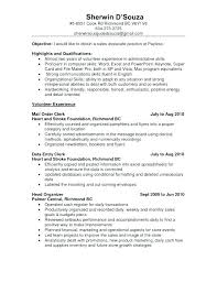 exle resume for retail sales associate skills for resume