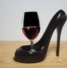 Shoe Home Decor Home Decoration High Heel Shoe Wine Bottle Glass Holder Home