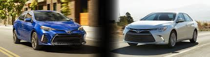 toyota yaris vs corolla comparison 2017 toyota corolla vs camry specs and prices tallahassee fl