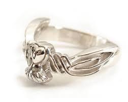celtic rings celtic ring etsy