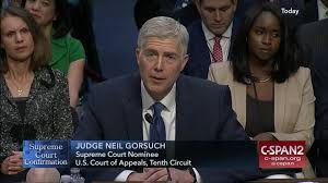 supreme court nominee neil gorsuch delivers opening statement c
