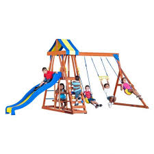 Backyard Discovery Atlantis top 5 wooden swing sets under 500 dollars