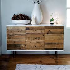 Reclaimed Wood Bar Cabinet Reclaimed Wood Lacquer Buffet 56 West Elm