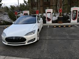 tesla model s charging tesla plans to nearly double its car charging network la times