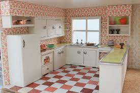 kitchen dollhouse furniture a vintage custom kitchen for the betsy mccall dollhouse retro