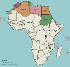 n africa map quiz test your geography knowledge northern africa countries lizard
