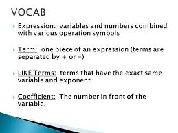 combining like terms and the distributive property ppt download