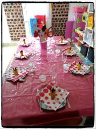deco de table pour anniversaire anniversaire la belle au bois dormant pour les 6 ans d u0027ashley