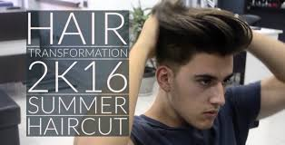 hair transformation summer haircut mens hair 2016 youtube