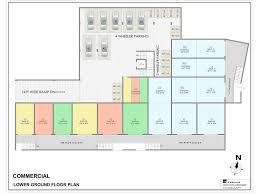 Commercial Complex Floor Plan Katkar Park Commercial Shopping Complex At Siber Chowk Near