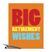 Retirement Invitation Card Matter In English J2734rtg Jumbo Funny Retirement Card Big Retirement Wishes