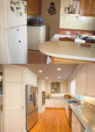 Before And After Kitchen Remodels by Before U0026 After Gallery The Cleary Company