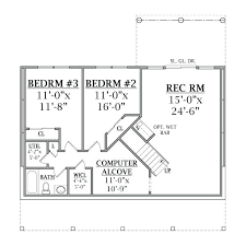 house plans with basements small house plans with walkout basement small house plans with