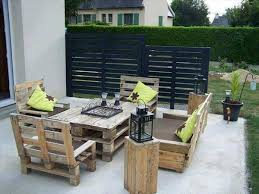 How To Make Patio Furniture Out Of Pallets Nice Patio Furniture Made Out Of Pallets Exterior Decorating