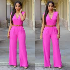 jumpsuit and rompers summer playsuit v neck casual jumpsuit rompers