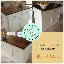 unique kitchen island makeover home design ideas